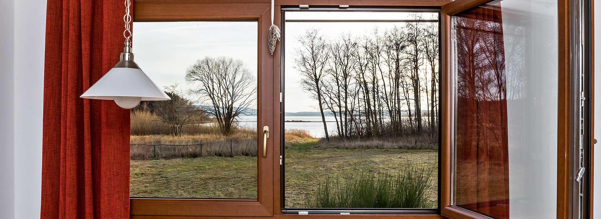 Lipno Mobile Home Hůrka - výhled z okna